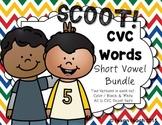 CVC Word Scoot: Short Vowel BUNDLE