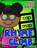 CVC Words - Short Vowel Rhyme Word Work