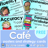 Cafe letters, posters and strategy cards