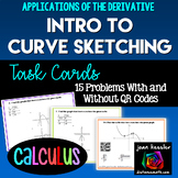 Calculus : Task Cards - Introduction to Curve Sketching wi