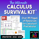 Calculus Survival Kit - over 70 pages references for Calcu