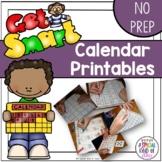 Calendar Book Printables