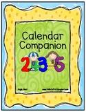Calendar Companion/Notebook for First Grade