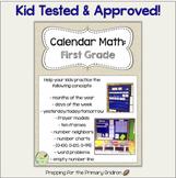 Calendar Math - 1st Grade