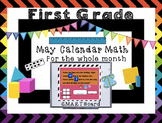Calendar Math SMARTBoard for May Common Core - Attendance