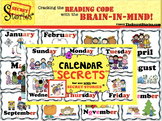 """Calendar SECRETS!"" from the Secret Stories"