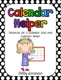 Calendar Helper: resources for instruction and binder