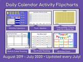 Calendars and Daily Math - Activboard August 2015 through