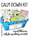 Calm Down Kit- Visual Behavioral Management Tools for Stud