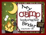 Camp Organizational Binder Set