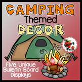 Camping Themed Decor for Classroom or Library Media Center
