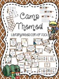 Camp Themed Library Media Center Pack {NOW with EDITABLE signs}