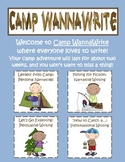 Camp Wanna Write {End of the Year Writing Unit!}