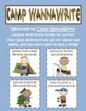 Camp WannaWrite {Common Core Writing: Narrative, Persuasiv