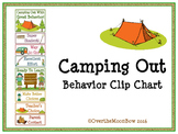 Camping Out Behavior Clip Chart
