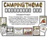 Camping Theme Classroom Set