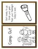 Camping Theme- Emergent Reader