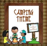 Camping Theme for Preschool and Kindergarten