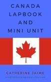 Canada Lapbook and Mini Unit