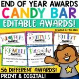 Classroom Candy Bar Awards (56 Awards!)