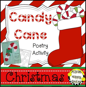 Christmas Activity ~ Poetry: Candy Cane
