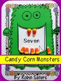 Candy Corn Counting Monsters Craftivity