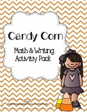 Candy Corn Math & Writing Mini Pack