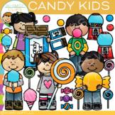 Candy Kids Clip Art