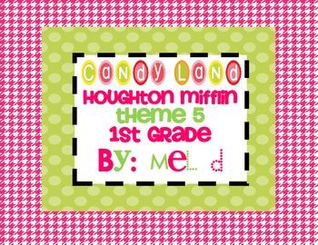 Candy Land Houghton Mifflin Theme 5-Grade 1
