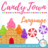 Candy Town Language Cards