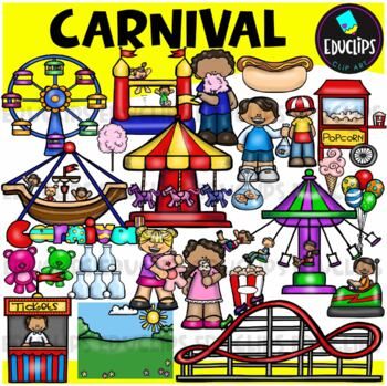 Carnival Clip Art Bundle