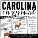Carolina on My Mind {Non-fiction Articles about South Carolina}