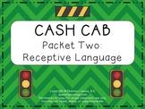 Cash Cab Themed Receptive Language Packet