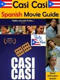 Casi Casi Spanish Movie Packet with Puerto Rico Informatio