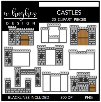 Castles 1 {Graphics for Commercial Use}