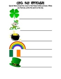 Catch That Leprechaun! A St. Patrick's Day Center Activity