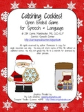 Catching Cookies! An Open Ended Game for Speech and Language