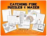 Catching Fire Activities Crossword, Logic, Word Find, Maze