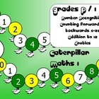 Caterpillar Maths 1: Counting, Number Recognition & Doubles