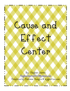 Cause and Effect Person Center
