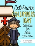 Celebrate Columbus Day {Literacy Activities for Little Learners}