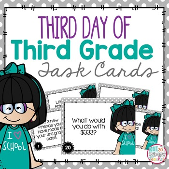 Third Day of Third Grade!