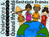 Celebrations & Traditions Around the World Sentence Frames