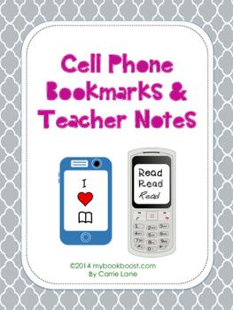 https://www.teacherspayteachers.com/Product/Cell-Phone-Bookmarks-and-Teacher-Notes-1467058