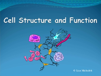 Cell Structure and Function PowerPoint Presentation Lesson Plan