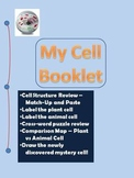 Cell Structures Booklet