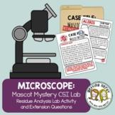 Cells - CSI Crime Scene Investigation - Microscope Usage Lab