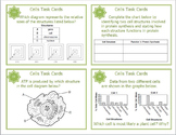 Cells and Cell Organelles Task Cards for Middle and High School