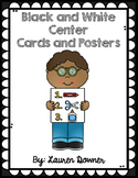Center Cards and Posters (Black and White)
