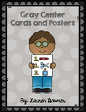Center Cards and Posters (Gray)